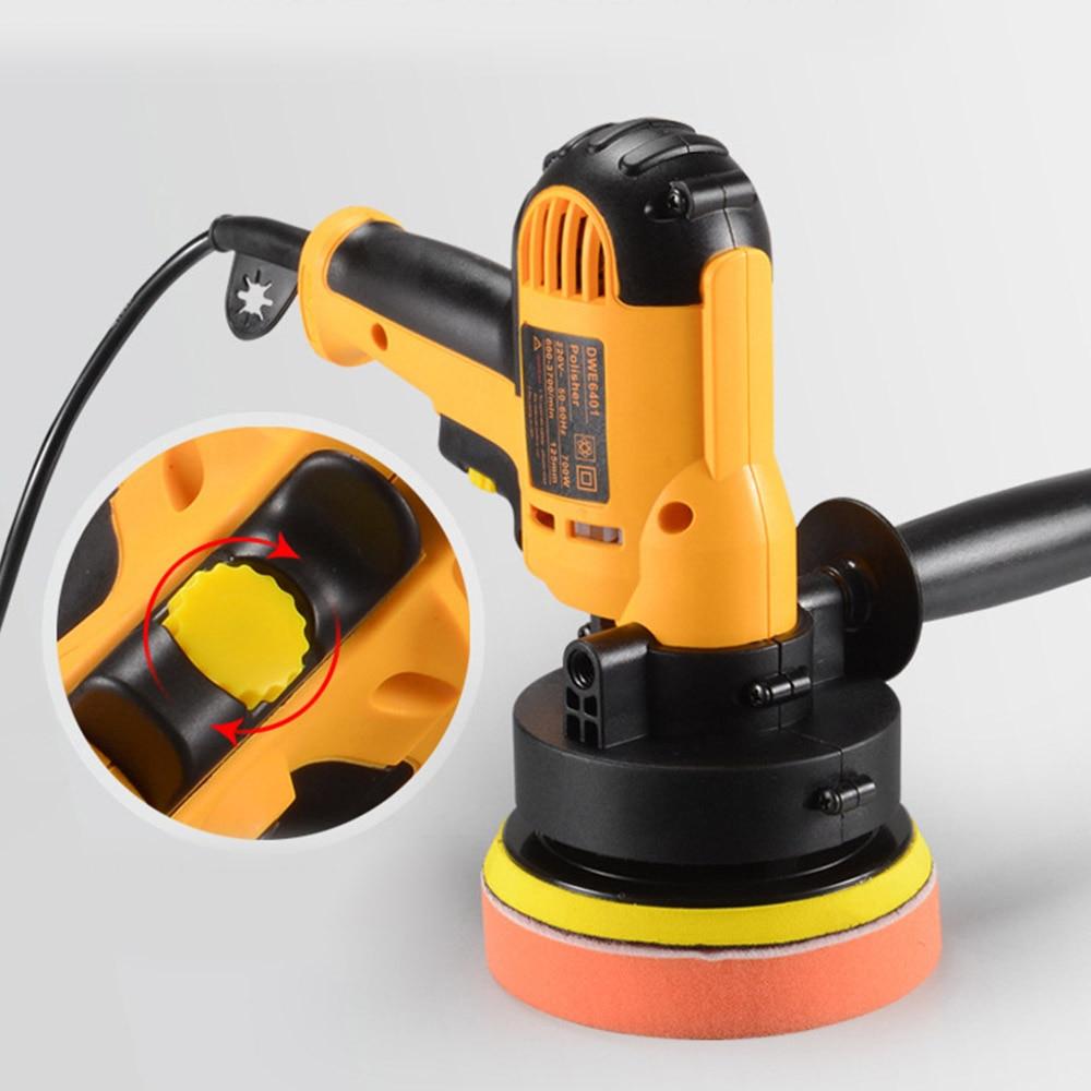 Car Variable Speed Polishing Machine Auto Electric Waxing Sealing Glaze Tools