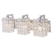 Nordic Modern Minimalist K9 Crystal Mirror Headlights Makeup Mirror Lamp Bathroom Wall Lamp Home Lighting