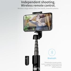 Image 2 - Không Dây Hoco Gậy Selfie Bluetooth Cầm Tay Thông Minh Điện Thoại Chân Máy Ảnh Với Từ Xa Không Dây Dành Cho iPhone X Samsung Huawei Android