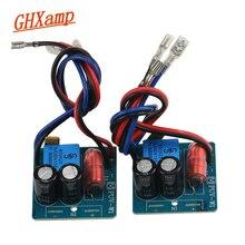 GHXAMP 60 Вт 2-полосный кроссовер динамик бас твитер делитель частоты для 2-4 дюймов динамик фильтр Музыка Звук 2800-3200 Гц 2 шт