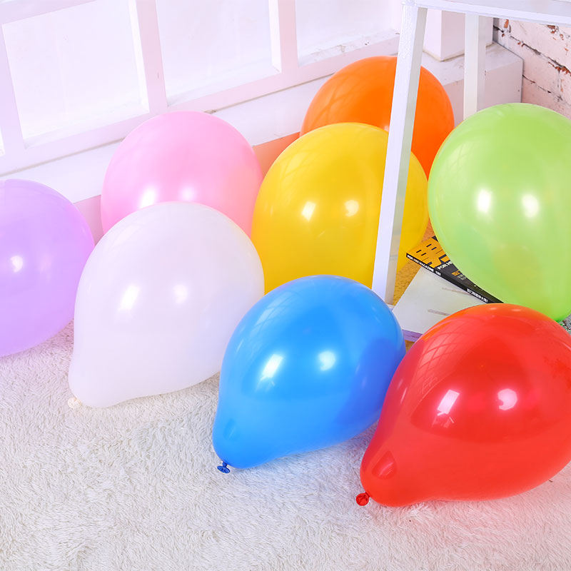 Ordinary balloons globos birthday party decorations kids Latex  adult