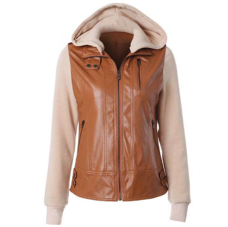 2019 Hot selling Fashion Jackets Women Slim Solid Outwear Coat Jacket Autumn Spring Long Sleeve Zipper Up Casual Streetwear
