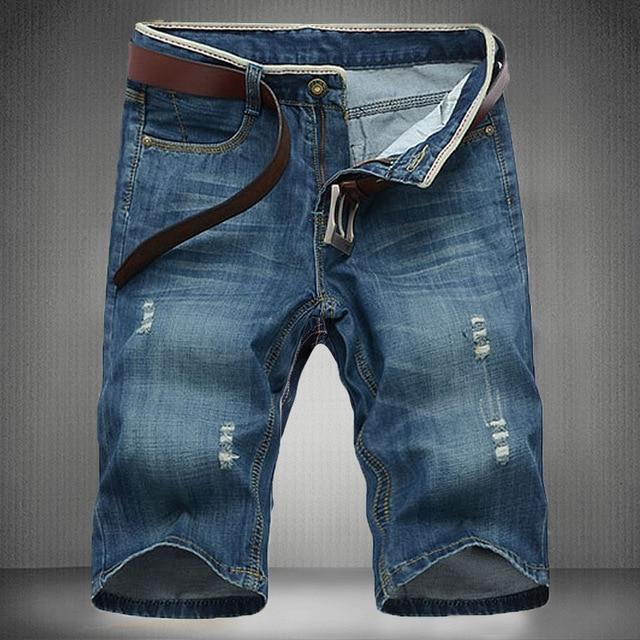 Aliexpress.com : Buy 2017 brand short jeans men New ripped jeans ...