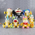 7pcs/Lot Super Mario Bros Bowser Koopalings Plush Dolls Wendy / LARRY / IGGY /Ludwig /Roy / Morton /Lemmy O.Koopa Plush Toy