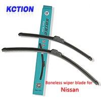 Car Windshield Wiper Blade For Nissan Tiida X Trail Qashqai Murano Note Juke Pathfinder Leaf Primera