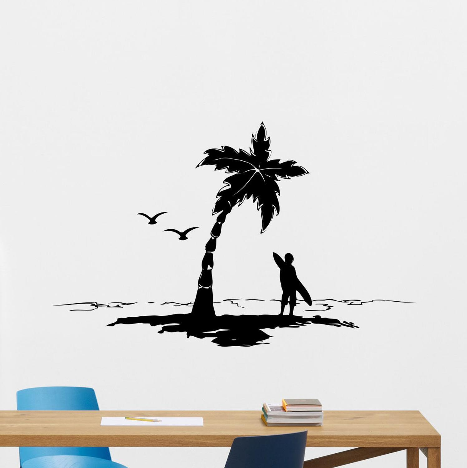 Tropical Fish Vinyl Removable Wall Sticker Decal Home Room Decor-Art