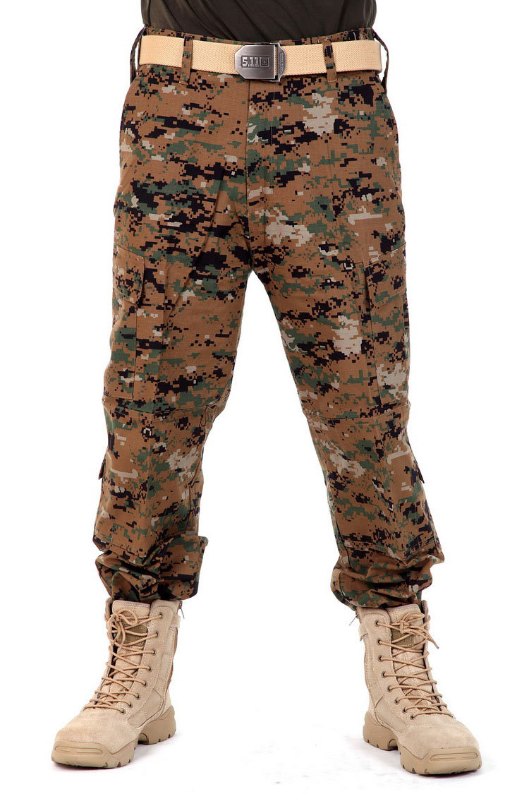 Men Camouflage Pants Military Combat Cargo Pants Swat Outdoors Male Tactical Camo Climbing Camping Pants XS-XL Plus Size