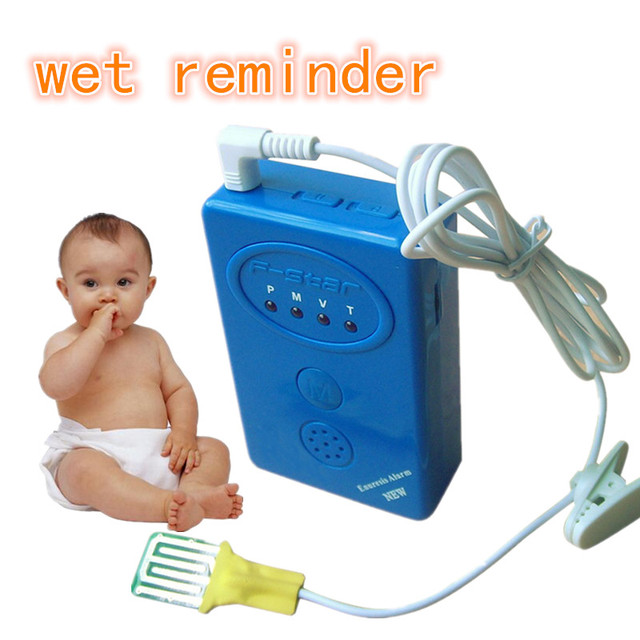 2017 nuevo 3 en 1 alarma enuresis enuresis enuresis alarma para adultos and 3 años de edad del bebé recordatorio mojado