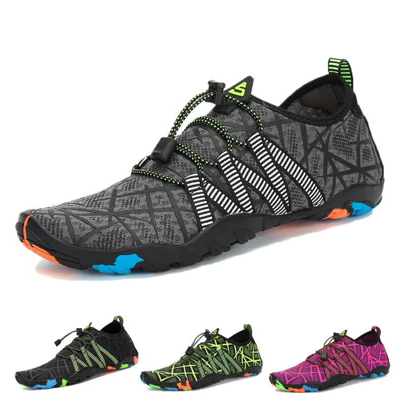 Aqua Shoes Summer Water Shoes Men Beach Slippers Breathable Upstream Shoes Woman Sandals Diving Swimming Socks