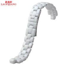 Liaopijiang керамические ремешок часы аксессуары J12 мужчина женщина пара браслет | белый черный
