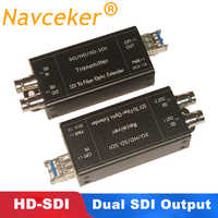 Mini 1080i HD SDI Fiber Konverter mit SFP simplex LC Singlemode SDI BNC Koaxial signal Optischen Medien Konverter über Glasfaser 20Km