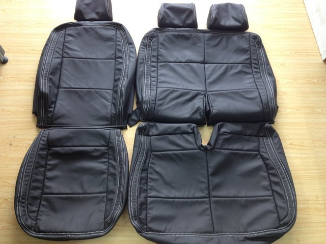 Vw Transporter Oem 9 Seaters Car Seat Cover Genuine Leather Upholstery Four Seasons General Reing Vehicle Interior Kits