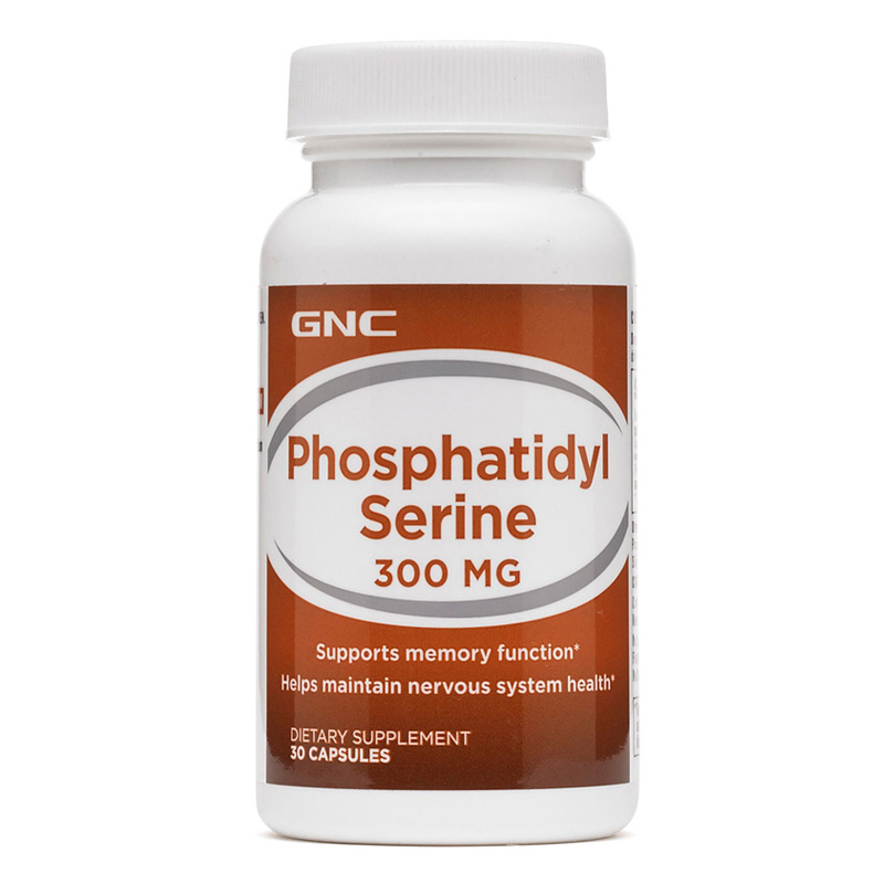 Free shipping Phosphatidyl Serine 300 mg supports memory function helps maintain nervous system health 30 pcs