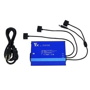 Image 5 - Cargador inteligente 4 en 1 Batería 3 uds y carga de control remoto para DJI Inspire 1 pro Drone Accesorios