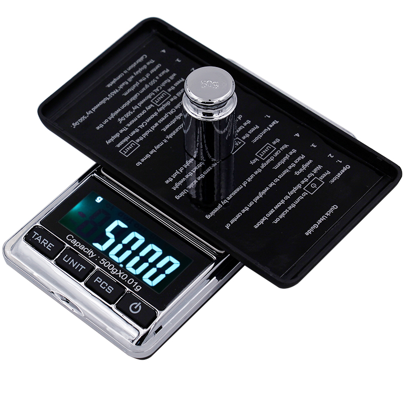 New arrival digital LCD Electronic weighing balance 500g 0.01g gram jewerly gold scale 30%OFF new arrival 500g 0 1g lcd digital gold balance gram pocket
