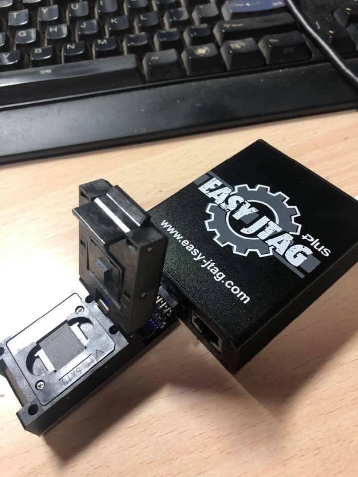 Nouveau produit facile Jtag Plus boîte UFS BGA153 Socket