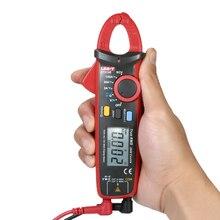 UT210E Мини цифровой клещи мультиметр True RMS AC/DC Вольтметр Амперметр ESR метр NCV непрерывность тест диод тест er