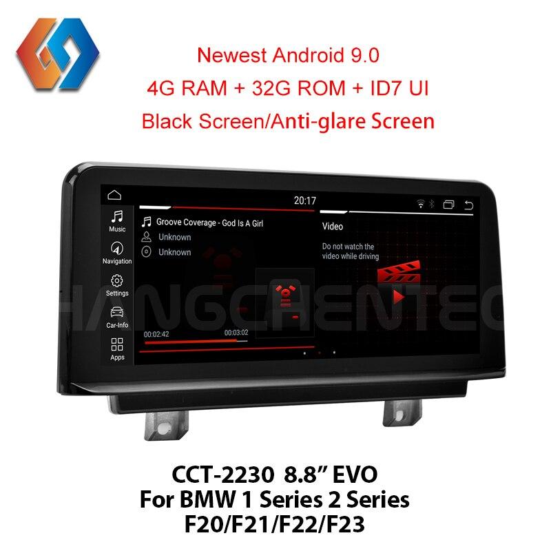 Android 9 voiture multimédia Navigation pour BMW F20 F21 F22 F23 EVO système de voiture haut de gamme qualité GPS noir écran tactile Radio 30