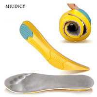 MIUINCY Silicone Gel Insoles Pad Comfortable Shoe Insoles Shock Sole Men Insoles Shoes Pad Pads Inserts