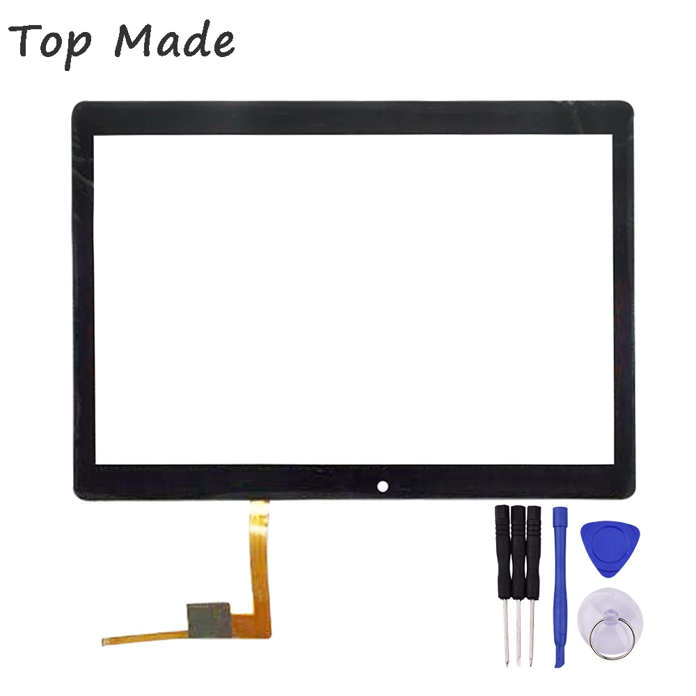 New 10.1 inch Touch Screen for  TZ191 TZ 191 Tablet PC Glass Panel Digitizer Sensor Replacement with Free Repair Tools new for 10 1 inch mf 872 101f fpc touch screen panel digitizer sensor repair replacement parts free shipping