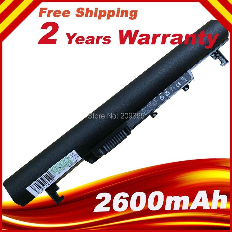 Nouvelle batterie d'ordinateur portable 925T2008F BTY-S16 BTY-S17 pour MSI n082 vent U180 U160 U160DX U160DXH U160MX noir