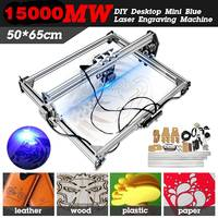3000MW/15000MW 50*65cm CNC Laser Engraving Machine for Metal/Wood Router/DIY Cutter 2Axis Engraver Desktop Cutter+ Laser Goggles