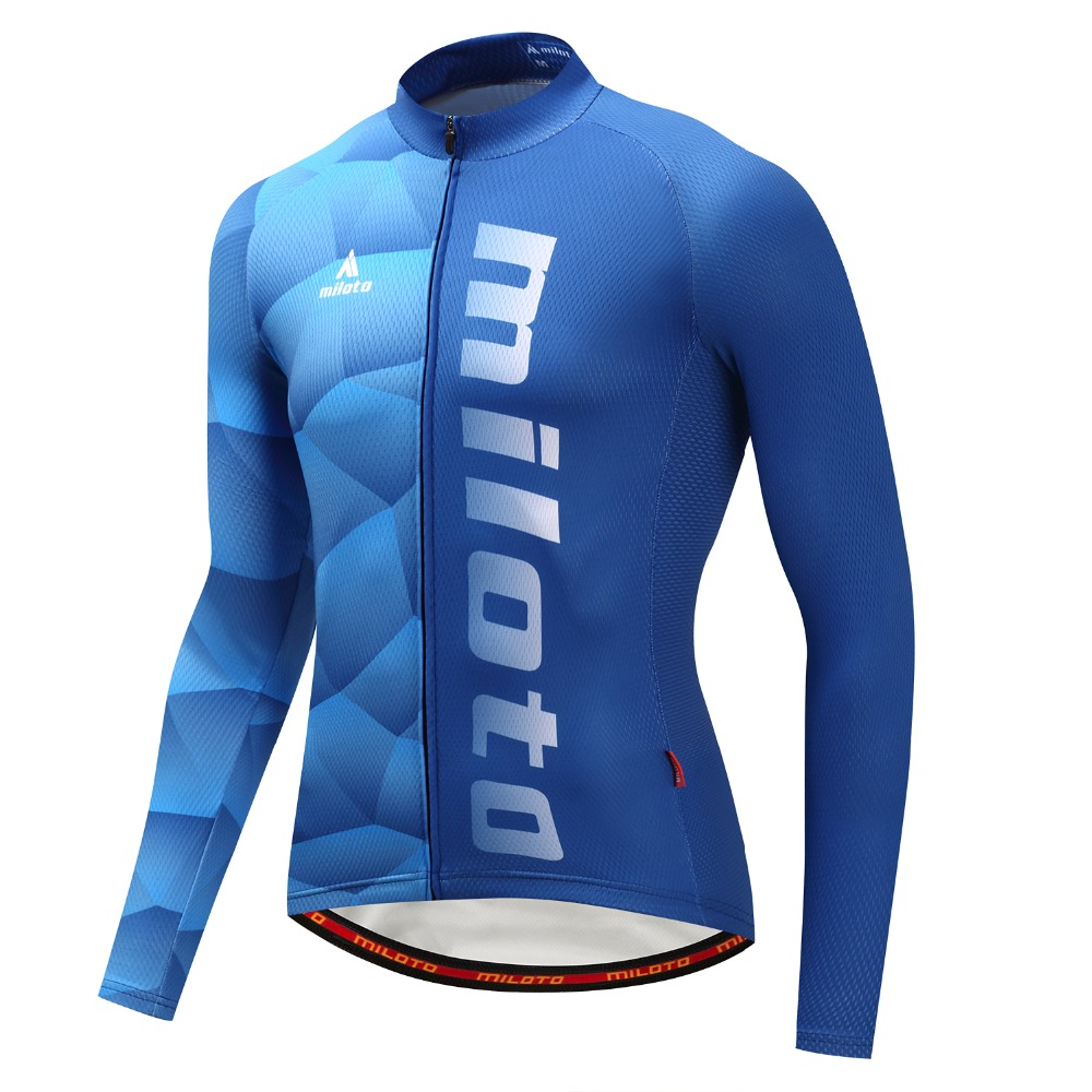 Maillot Ciclismo Long Sleeve Men's Cycling <font><b>Jersey</b></font> Racing Mountain <font><b>Bike</b></font> Jacket Ropa Ciclismo Cycling Long Sleeve <font><b>Jersey</b></font> <font><b>Customize</b></font> image
