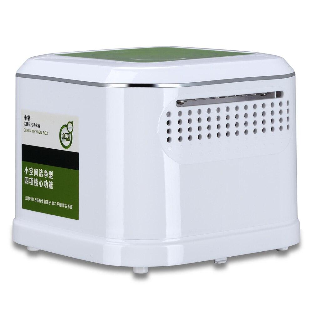 ФОТО Air purifier for home negative anion 5 million/ cm3 AC 220V-240V remove Formaldehyde Smoke Dust Purification pm2.5
