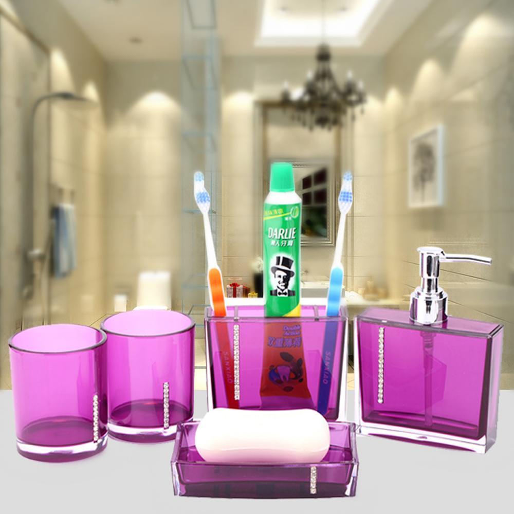 Achetez en gros accessoires de salle de bains acrylique en ligne à ...