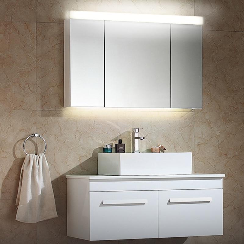 Fensalir Brand Modern toilet Aluminum Wall Lamp AC110-240V Bathroom Led Mirror Light Wall Sconce Lighting Fixtures ML501-590 fensalir brand 6w 415mm led wall lamp ac220 230v modern waterproof toilet bar bathroom mirror light lamp ml501 415