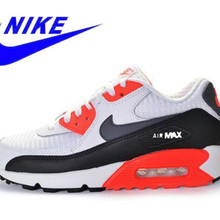 sports shoes a39f2 2acec Original New Arrival Official NIKE Men's AIR MAX 90 ESSENTIAL Breathable  Running Shoes Sneakers Trainers(