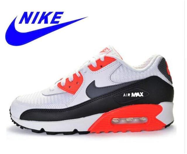 Original nueva llegada oficial de los hombres NIKE AIR MAX 90 esencial transpirable zapatillas de deporte zapatillas Zapatillas
