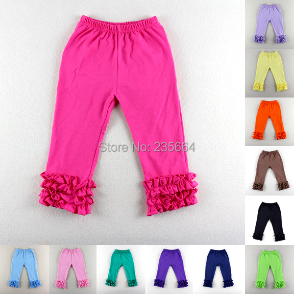 53285d974 Bobo Choses Winniefashions!wholesale Solid Color Cotton Ruffle Pants For  Baby Girls Infant Toddler Trousers Boy Free Shipping