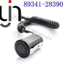 4pcs PDC ULTRASONIC Parking Sensor 89341-28390 For TOYOTA previa acr30 TARAGO CLR30 ESTIMA ACR30 black white silvery color