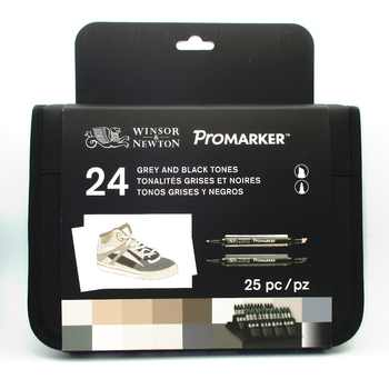Winsor & Newton Promarker Set 24 Colors Markers Set