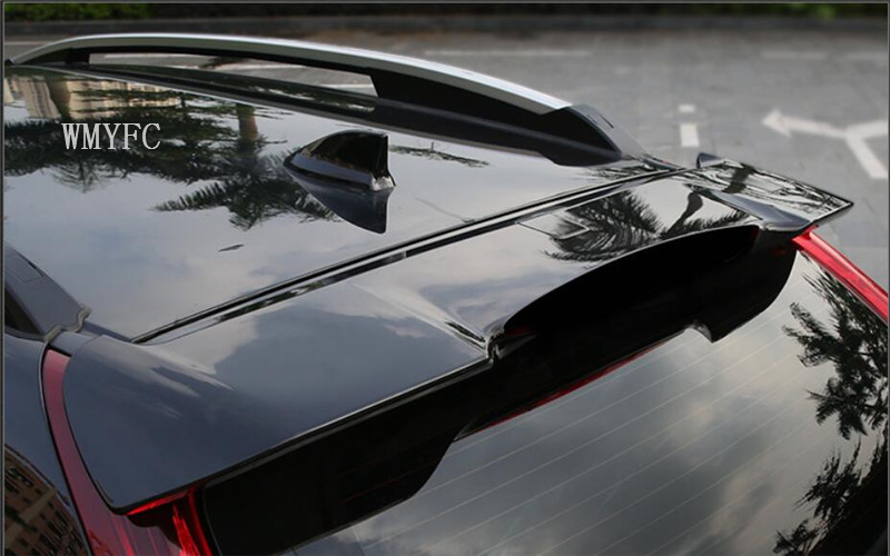FIT For Honda CRV CR-V 2012 2013 2014 2015 2016 ABS Rear Trunk Roof Spoiler Wing Pad Lip car Accessories 1pcs