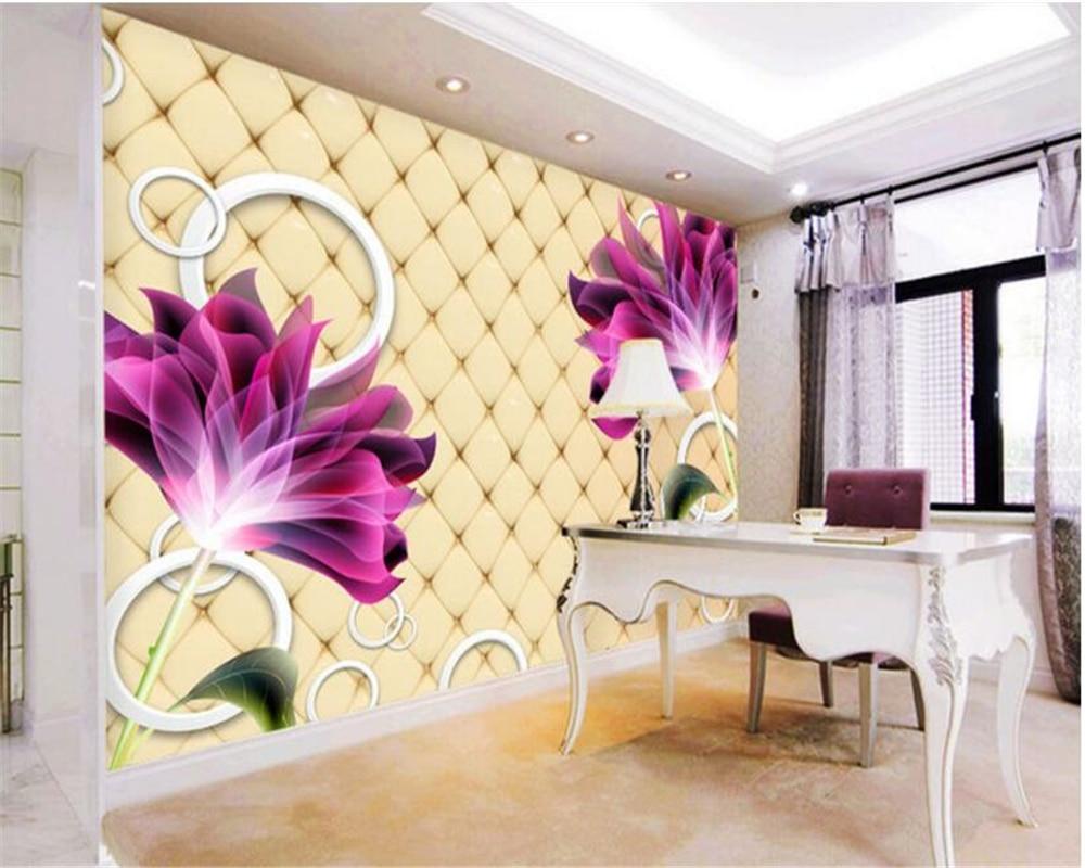 beibehang Home decoration painting interior wallpaper beautiful ...