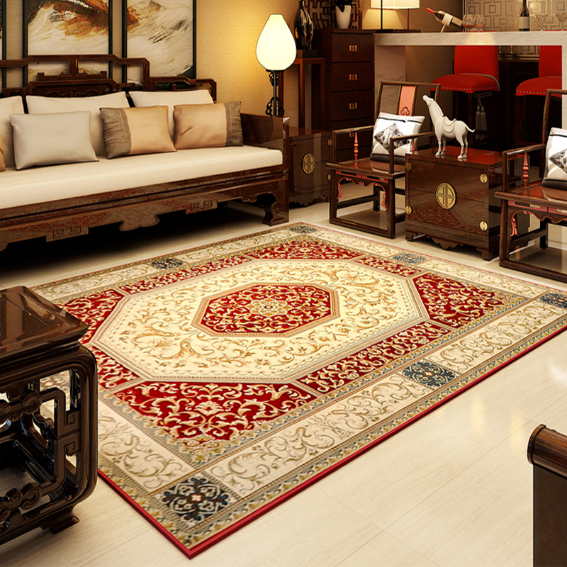 140x200cm vintage chinese carpets for living room european coffee table rugs and carpet bedroom area rugfloor mat chinese style in carpet from home - Carpet For Living Room