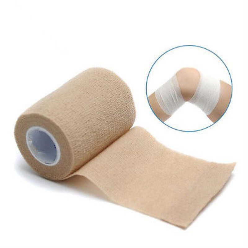 Disposable Non Woven Cohesive Self Adhesive Elastic Bandage For Dressing Fixed Or To Provide Light Compression