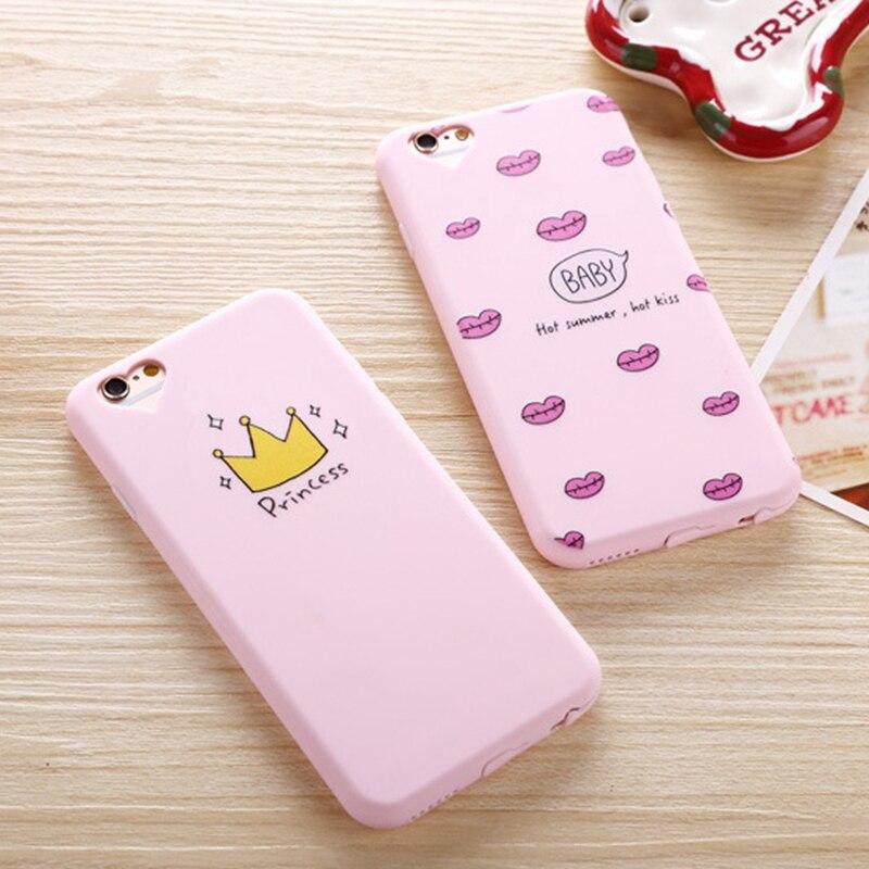 Звезды любят Princess Crown Чехол для iPhone 7 Plus iPhone 5 S 5S SE Милые силиконовые Коке для iphone 8 плюс IPHONE 6S 6S Plus чехол