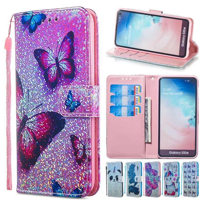 2019 New Style Flash Case For Samsung Galaxy J3 J7 A9 S10e S10 S9 S8 A7 J4 J6 Plus 2018 M30 M20 M10 A10 A20 A30 A40 A50 A70 Wallet Cover Dp03z To Have Both The Quality Of Tenacity And Hardness