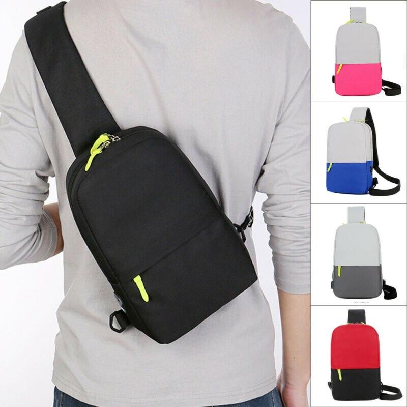 Мужская сумка слинг NoEnName, водонепроницаемая, из ткани Оксфорд, для путешествий Поясные сумки      АлиЭкспресс