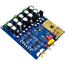AK4396VF+AK4113 Decoder DAC (Supports Fiber Optic Coaxial USB input) w/XMOS 208 lusya xl1 xmos u8 asynchronous usb module i2s output dsd pcm upgrade dac decoder
