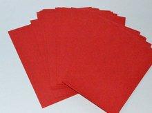 100 UNIDS/LOT. ROJO en blanco tarjetas. Paper crafts. Dibujo juguetes educativos toys. Early. Paper artesanías. Hobby. Creative.15.5×10.8cm