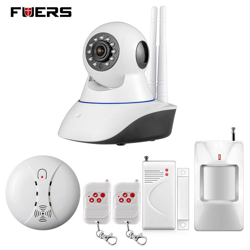 bilder für Fuers wifi ip-kamera home einbrecher rauch brandmelder alarm system + ios/android app fernbedienung netzwerk alarm system
