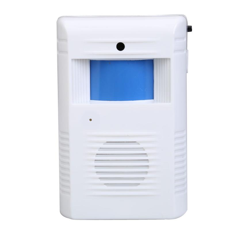 Shop Store Home Welcome Chime Motion Sensor Wireless Alarm Entry Door Bell E5M1 mool welcome chime door bell motion sensor wireless alarm