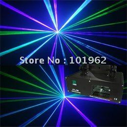 stage light Green+Violet Mixed Blue Laser light DMX SOUND AUTO DJ Disco Christamas Stage Lights