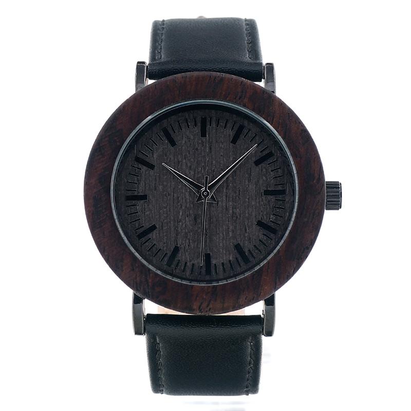 BOBO BIRD Wood Wristwatch Women Watches Genuine Leather Band relogio feminino C-K17 (9)