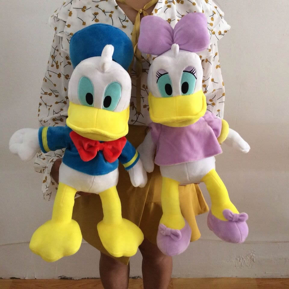 50cm=19.6inch Original Donald Duck And Daisy duck Stuffed animals plush Toys High quality Pelucia Donald Duck Plush Toy детская плюшевая игрушка oem 1 kwaii hamtaro peluche pelucia trotting hamtaro plush toys page 4
