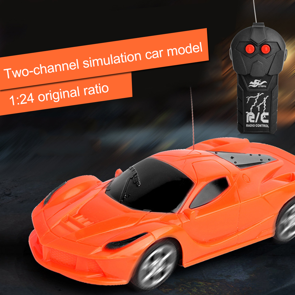Two-way Wireless Electric Rc Sports Car Toys Mini Alloy Remote Control Car Model Toys For Children Boys Birthday Gifts 2019 New Tool Sets